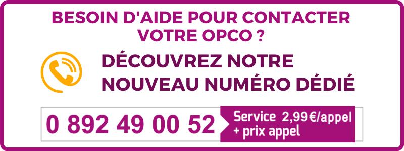 Contact OPCO Opérateur de Compétences